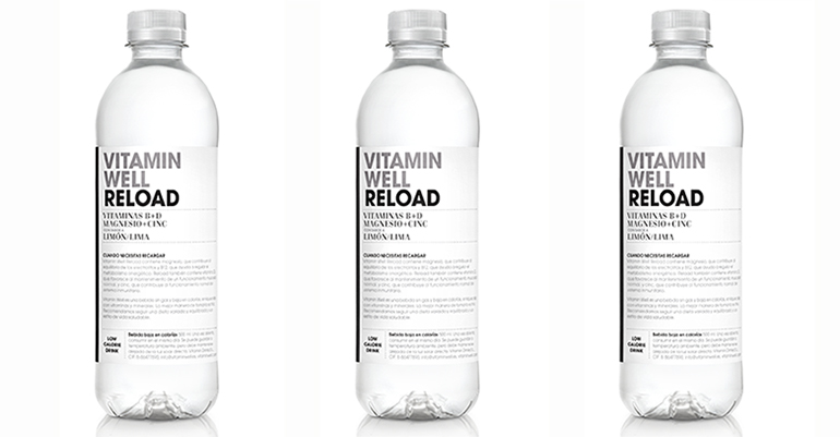 Bebida enriquecida con magnesio, biotina y vitamina B12 para recuperar tras el ejercicio físico
